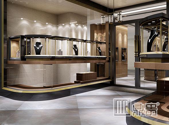 寻寻觅觅,你要找的高档珠宝展示柜制作厂家原来在鼎贵展柜