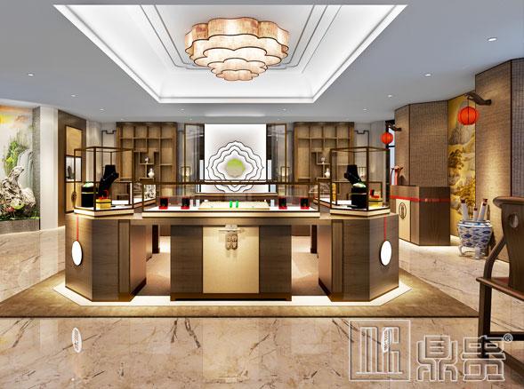 看鼎贵杭州珠宝展柜设计如何展柜设计工艺