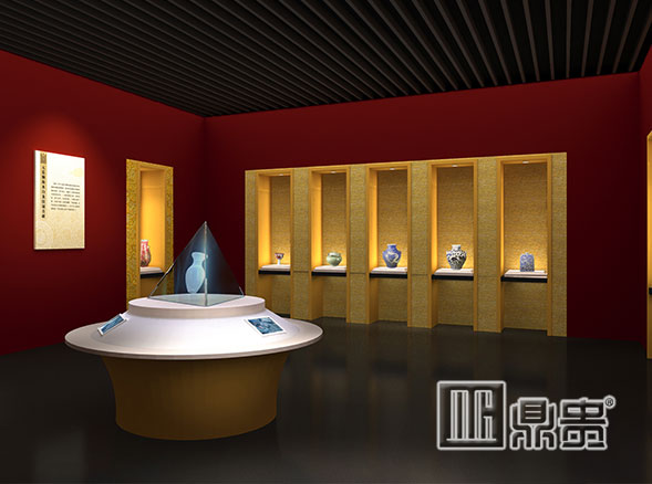 专业订做博物馆展柜,就找鼎贵展柜大师让你的展品万无一失