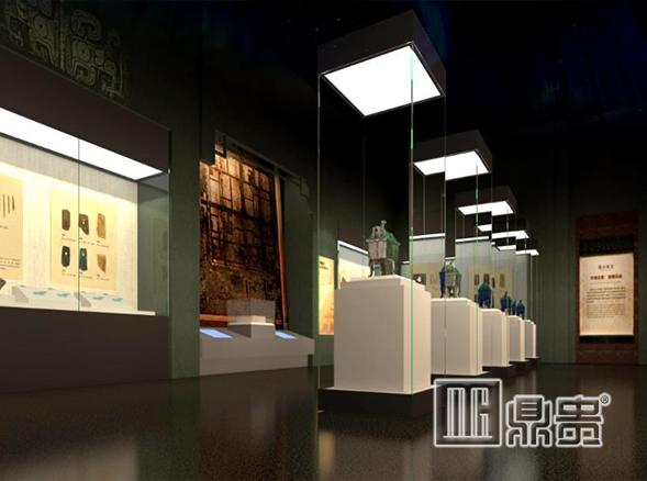 博物馆展柜采购要求须重视--鼎贵专业博物馆展柜厂家