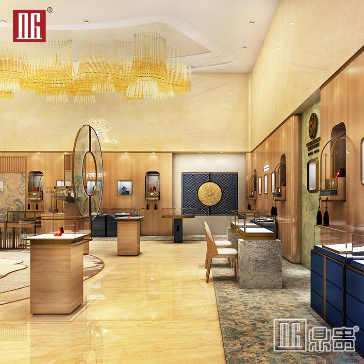 鼎贵展柜大师丨如何打造高销量的珠宝店铺