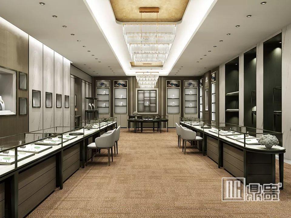 鼎贵展柜大师丨高端展柜与灯光的完美搭配