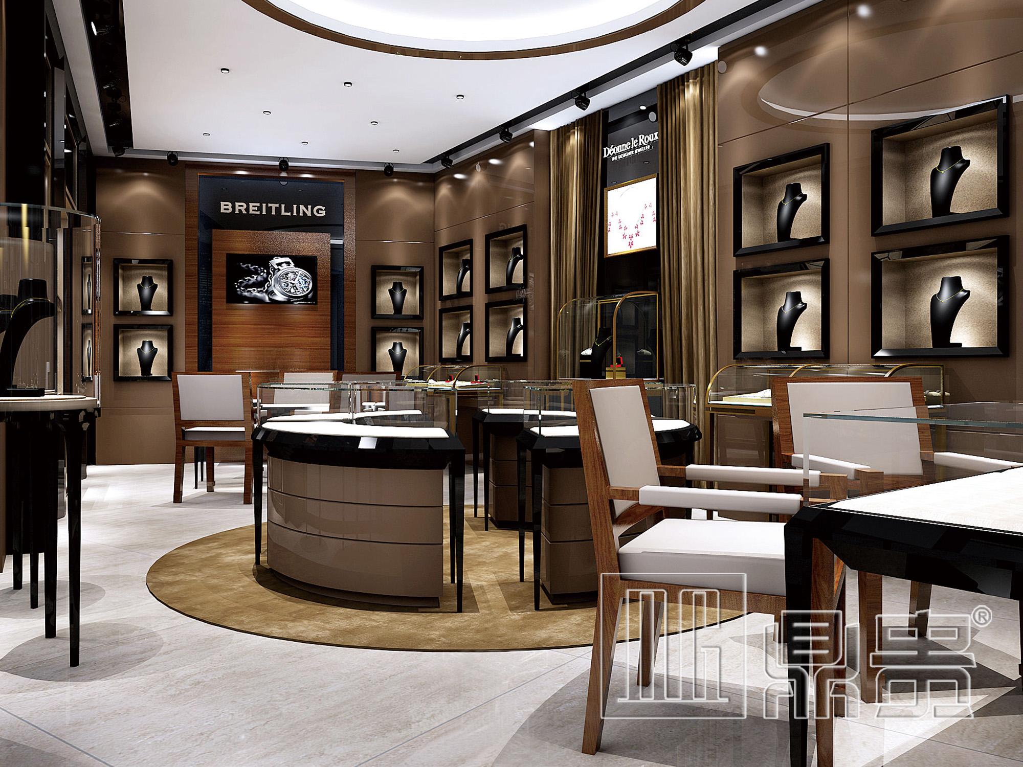 鼎贵展柜大师:欧式风情,简约而不失奢华,带来的是另一种展柜之美