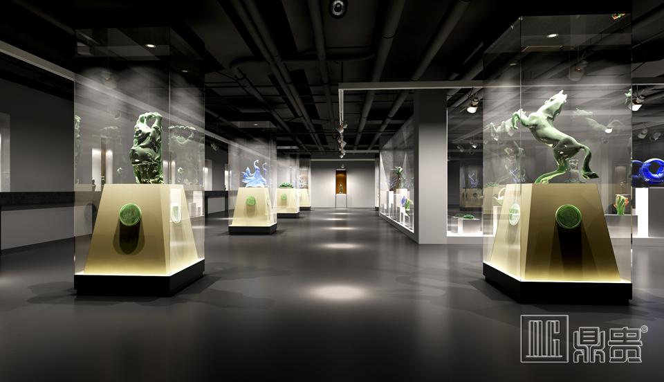 中国国家历史博物馆展柜