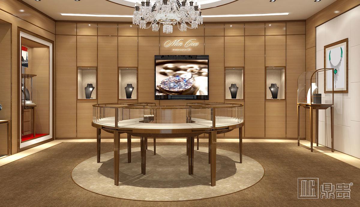 高端奢华埃及品牌珠宝店项目