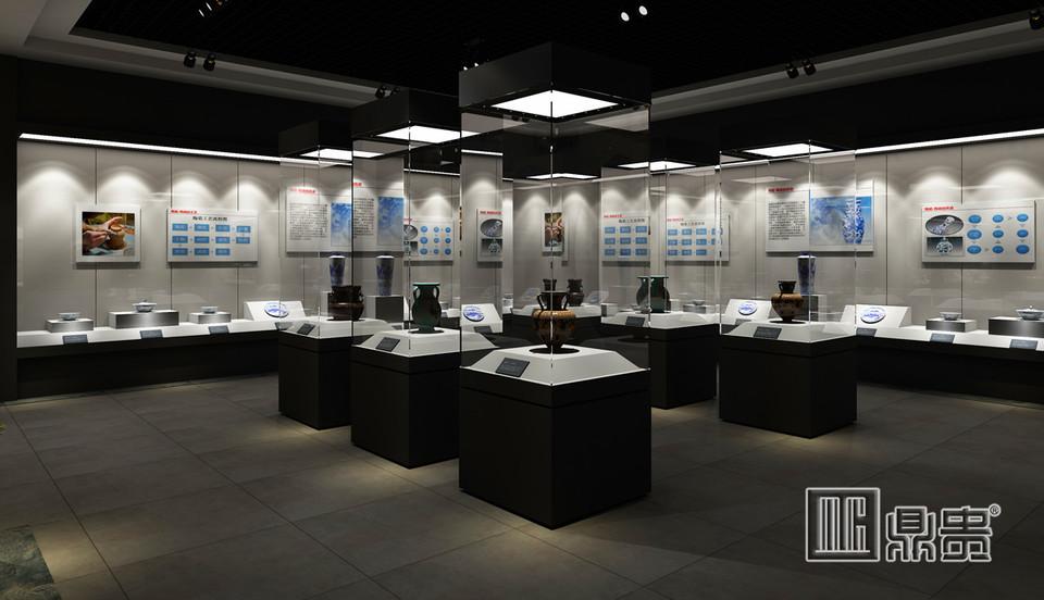 江西陶瓷博物馆展柜