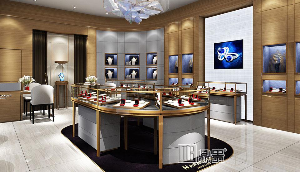 高端奢华珠宝品牌店项目