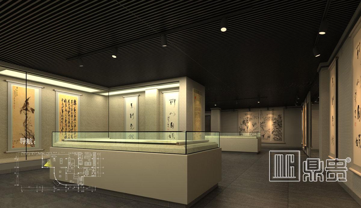 珠海博物馆展柜