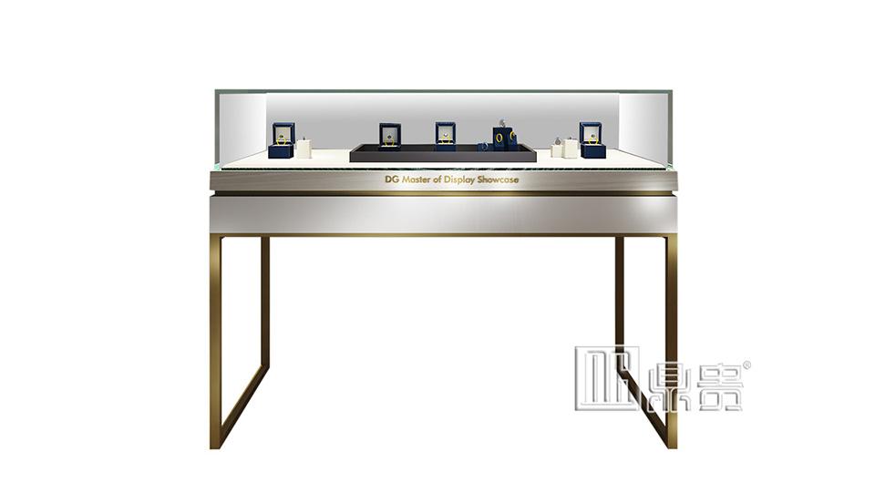高端奢华珠宝展示柜设计