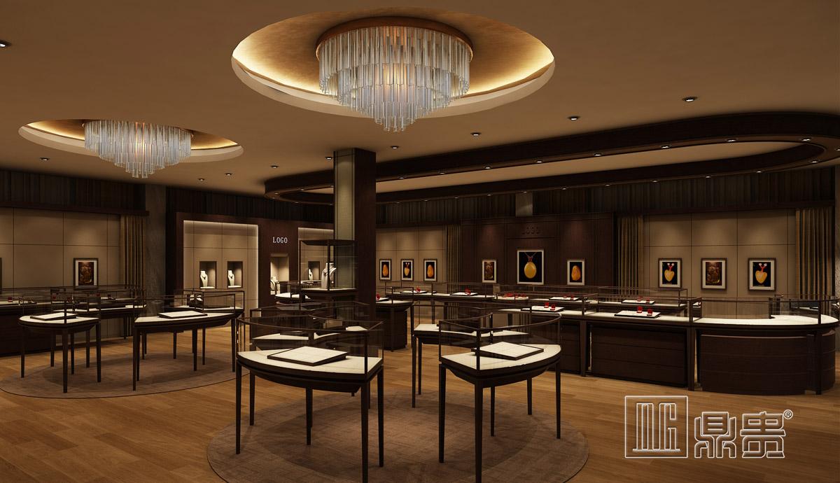 奢华高端珠宝展厅项目