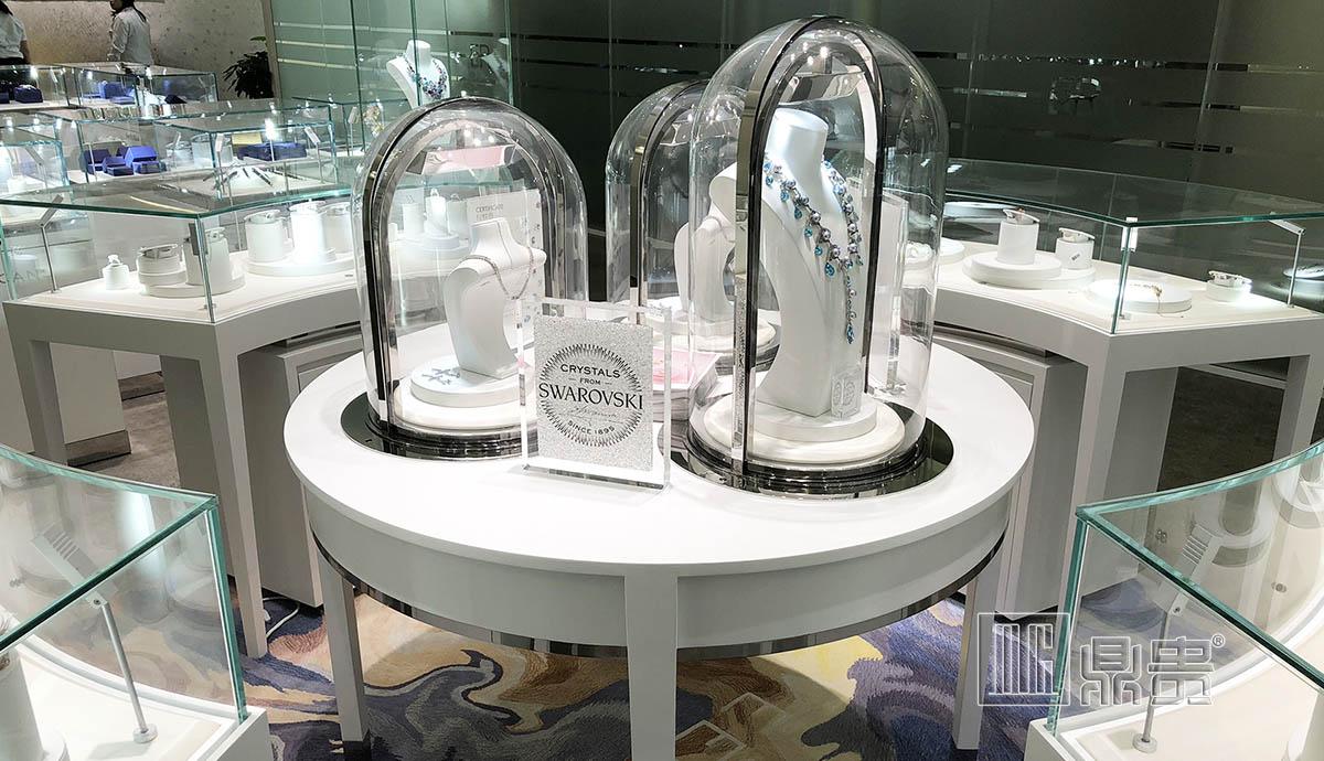 高端奢华珠宝水晶品牌店面项目